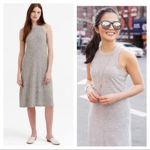 Lou & Gray grey Racerback midi dress